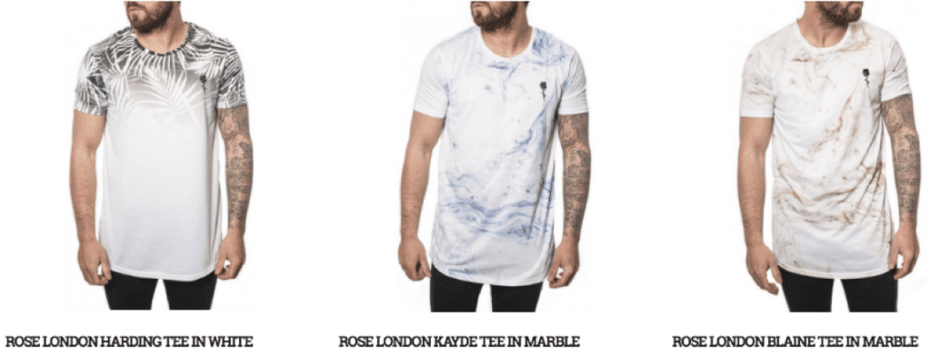Rose London Tees