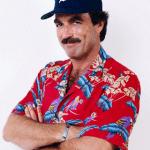 Magnum PI in Detroit Tigers Baseball cap